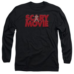 Scary Movie - Mens Logo Long Sleeve T-Shirt