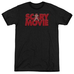 Scary Movie - Mens Logo Ringer T-Shirt