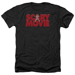 Scary Movie - Mens Logo Heather T-Shirt