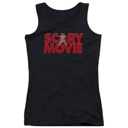 Scary Movie - Juniors Logo Tank Top