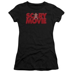 Scary Movie - Juniors Logo Premium Bella T-Shirt