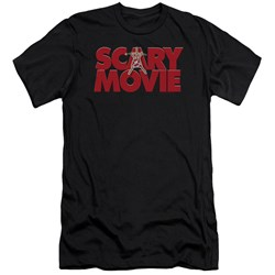 Scary Movie - Mens Logo Premium Slim Fit T-Shirt
