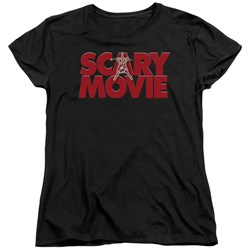 Scary Movie - Womens Logo T-Shirt