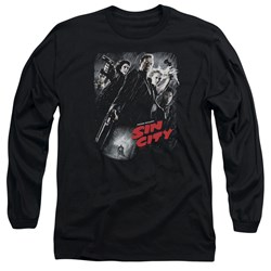 Sin City - Mens Sc Poster Long Sleeve T-Shirt