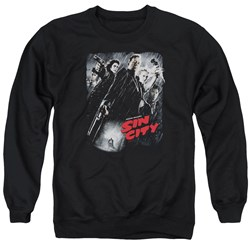 Sin City - Mens Sc Poster Sweater
