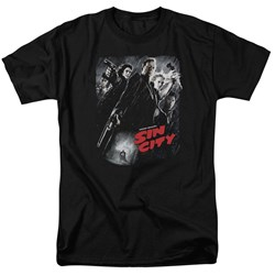Sin City - Mens Sc Poster T-Shirt