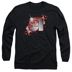 Studio 54 - Mens 54 Logo Long Sleeve T-Shirt