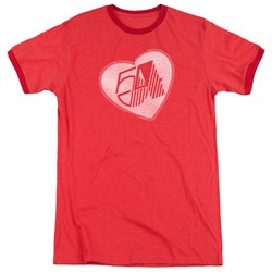 Studio 54 - Mens I Heart Studio 54 Ringer T-Shirt