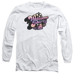 Studio 54 - Mens Welcome To The Party Long Sleeve T-Shirt