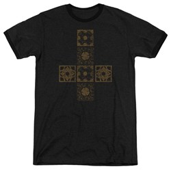 Hellraiser - Mens Lemarchands Puzzle Box Ringer T-Shirt