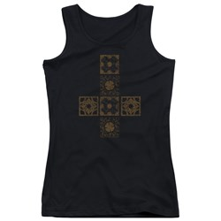 Hellraiser - Juniors Lemarchands Puzzle Box Tank Top