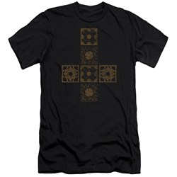 Hellraiser - Mens Lemarchands Puzzle Box Premium Slim Fit T-Shirt