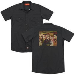 Kill Bill - Mens Deadly Viper Assassination Squad (Back Print) Work Shirt