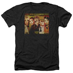 Kill Bill - Mens Deadly Viper Assassination Squad Heather T-Shirt