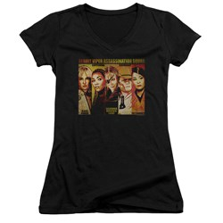 Kill Bill - Juniors Deadly Viper Assassination Squad V-Neck T-Shirt