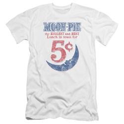 Moon Pie - Mens 0 Premium Slim Fit T-Shirt
