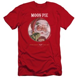 Moon Pie - Mens Snacks For Santa Premium Slim Fit T-Shirt