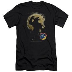 Moon Pie - Mens Howling Moon Pie Premium Slim Fit T-Shirt