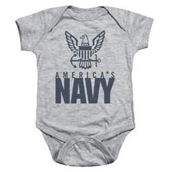 Navy - Toddler Eagle Logo Onesie