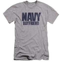 Navy - Mens Boyfriend Premium Slim Fit T-Shirt