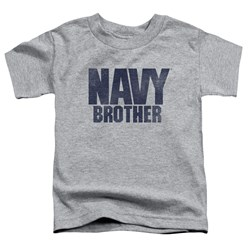 Navy - Toddlers Brother T-Shirt