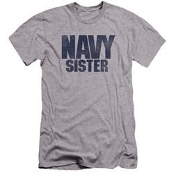 Navy - Mens Sister Premium Slim Fit T-Shirt