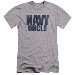Navy - Mens Uncle Premium Slim Fit T-Shirt