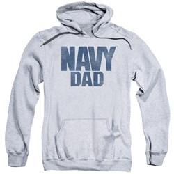 Navy - Mens Navy Person Pullover Hoodie