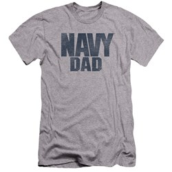 Navy - Mens Navy Person Premium Slim Fit T-Shirt