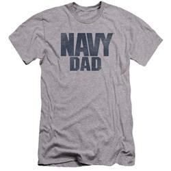 Navy - Mens Navy Person Premium Slim Fit T-Shirt