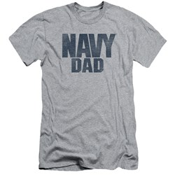 Navy - Mens Navy Person Slim Fit T-Shirt