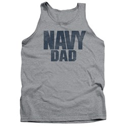 Navy - Mens Navy Person Tank Top