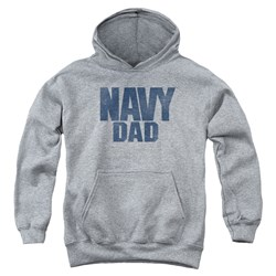 Navy - Youth Navy Person Pullover Hoodie