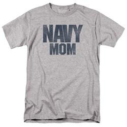 Navy - Mens Navy Mom T-Shirt