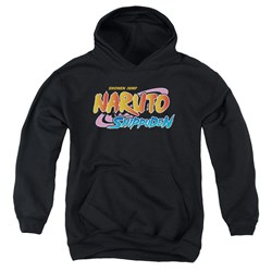 Naruto Shippuden - Youth Logo Pullover Hoodie