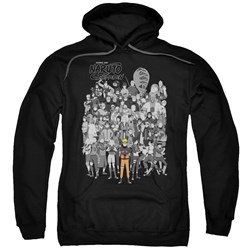 Naruto - Mens Characters Pullover Hoodie
