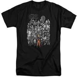 Naruto - Mens Characters Tall T-Shirt