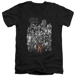Naruto - Mens Characters V-Neck T-Shirt
