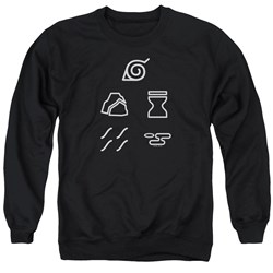 Naruto Shippuden - Mens Village Symbols Sweater