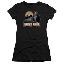 Knight Rider - Juniors Full Moon Premium Bella T-Shirt