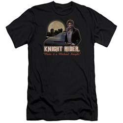 Knight Rider - Mens Full Moon Premium Slim Fit T-Shirt