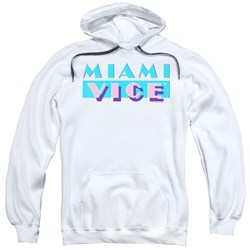 Miami Vice - Mens Logo Pullover Hoodie