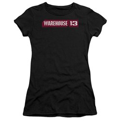 Warehouse 13 - Juniors Logo Premium Bella T-Shirt