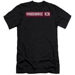 Warehouse 13 - Mens Logo Premium Slim Fit T-Shirt