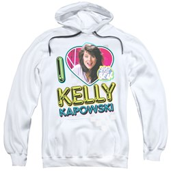 Saved By The Bell - Mens I Love Kelly Pullover Hoodie