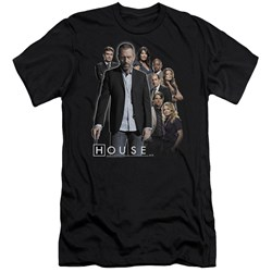 House - Mens Crew Premium Slim Fit T-Shirt