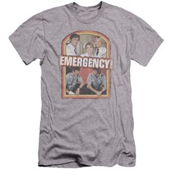 Emergency - Mens Retro Cast Premium Slim Fit T-Shirt
