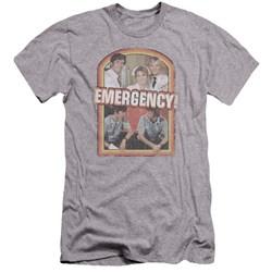 Emergency - Mens Retro Cast Premium Slim Fit T-Shirt