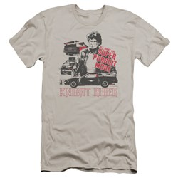 Knight Rider - Mens Super Pursuit Mode Premium Slim Fit T-Shirt
