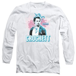 Miami Vice - Mens Crockett Long Sleeve T-Shirt